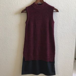 French connection turtleneck sweater dress